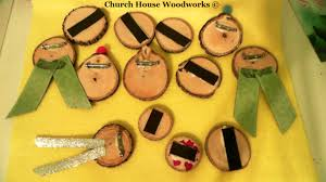 church house collection wood slice craft ideas sock monkey