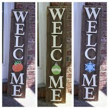 porch welcome signs cut and paste craft studio