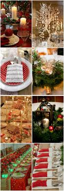 simple table decorations for christmas party top 25 christmas wedding ideas of the year 2015 centerpieces