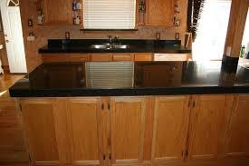 bathroom minimalist kitchen design with oak kitchen cabinets and