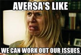 Claire Danes Meme - aversa s like we can work out our issues claire danes meme generator