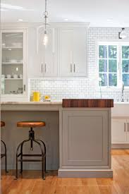marble countertops white kitchen island with butcher block top