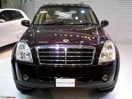 ssangyong rexton and more auto expo 2012 team bhp