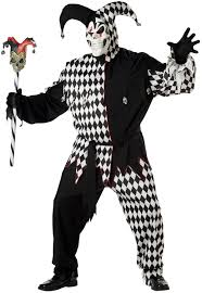 scary clown costumes scary clown jester plus size costume mr costumes