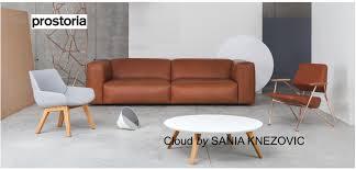 canapé cuir 4 places prostoria canapé cuir design 3 places cloud designer sanja knezović