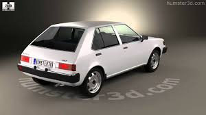 mitsubishi old models mitsubishi colt mirage 1978 3d model by humster3d com youtube