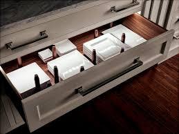 Kitchen Drawer Cabinets New Kitchen Drawer Plate Organizers Taste