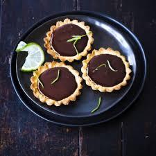cuisine et vin recette tartelettes au chocolat gingembre et citron vert cuisine et vins