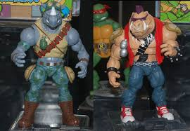 Bebop Rocksteady Halloween Costumes Ten Action Figure Reveals Toy Fair 2013