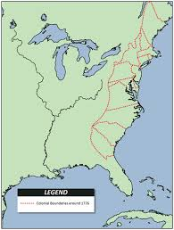 colonial america map lesson 2 colonial virginia
