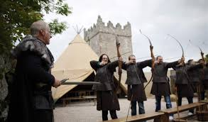 game of thrones tour u2013 archery experience winterfell castle
