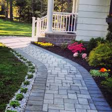 redid my front walkway and added flowers this week springggg