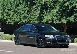 audi s8 matte black 2009 audi a8 with 22 giovanna kilis in matte black wheels wheel