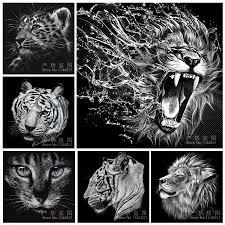 Peinture Noir Et Blanc by Achetez En Gros Noir Tigre Animal En Ligne à Des Grossistes Noir