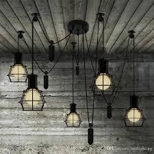 pulley pendant light fixtures vintage pendant light novelty spider pulley pendant l kitchen bar