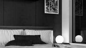 bedroom ideas in black and white rectangle white minimalist