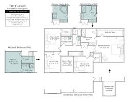 University Floor Plans The Carson In Wheatland Farms Community Floor Plans In Lincoln