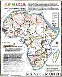 Map Of Africa With Capitals by Africa Map Maps For The Classroom