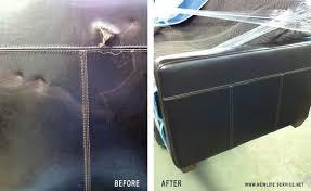 Worn Leather Sofa Restored Leather Sofa U2013 New Life Service Co Of Dallas