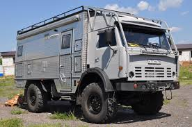 mitsubishi fuso 4x4 expedition vehicle offroad campers