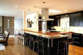 open kitchen design with island open kitchen designs open small kitchen with island homehub co