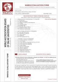 Quality Control Report Sample World Accreditation Board Of Online Universities