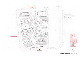 primary building line plan u2013 modern house