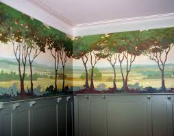Dining Room Murals Arts And Craft Dining Room Stockberger