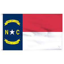 2x3 Flags North Carolina 2ft X 3ft Nylon Flag With Pole Hem Only Banner