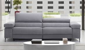 canap relaxation 3 places canapé en tissu avec avec assise électrique relax