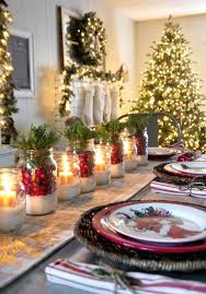 red and silver christmas table settings christmas table settings home design