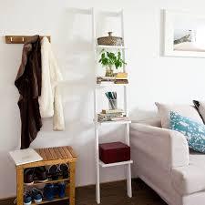 White Ladder Shelves by Leaning Ladder Style Bookshelves U2013 The Furniture Co