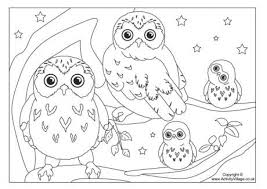 baby owl coloring pages for present residence cool coloring