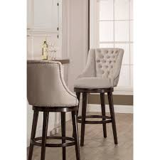 classic armchair swivel bar stool by hillsdale wolf and gardiner