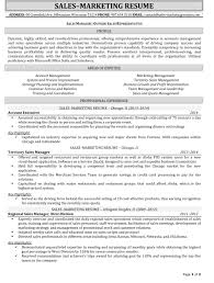 Sample Resume Format Accounts Executive by Resume Samples For Sales And Marketing Jobs
