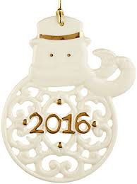 lenox 2016 a year to remember snowman ornament home