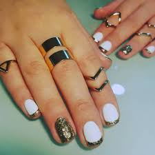 cute nail designs with white polish image collections nail art