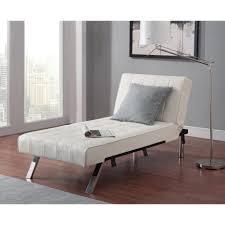 living room chaise lounge sleeper sofa emily futon lounger