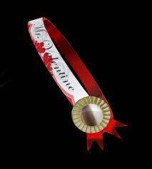 sash ribbon second marketplace mr pageant ribbon sash