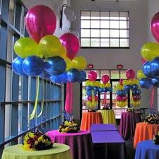 cheap balloons colorful table decor on the cheap balloons and plastic table