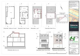 Loft Conversion Floor Plans Residential Projects Osborne Planning Permission Applications