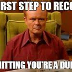 Red Forman Meme - red forman dumbass meme generator imgflip