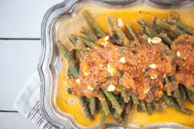green beans with garlic tomato sauce healthy with nedihealthy