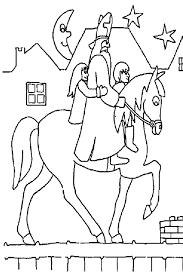 saint nicolas coloring pages