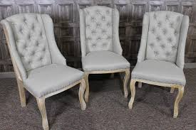Dining Chair Upholstered Gray Fabric Dining Chairs Show Home Design In Gray Upholstered