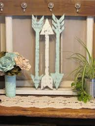 wood arrow wall decor handmade arrows rustic arrow decor