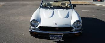 fiat spider white 1981 fiat 2000 spider turbo