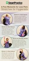 chairside stretches for pain freer dental hygienists review this