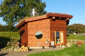 octagonal eco cabins in west wales treberfedd farm
