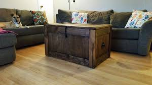 Chest Coffee Table Coffee Table Vintage Steamer Trunk 30s Travel Industrial Chest